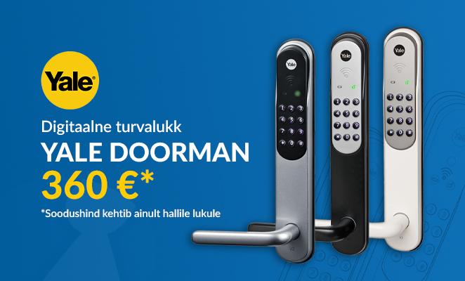 Yale Doorman digitaalne turvalukk e-poest hinnaga 360 €*